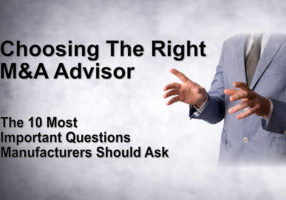 10 Key Questions Manufacturers Should Ask an M&A Advisor - Accelerated MFG Brokers